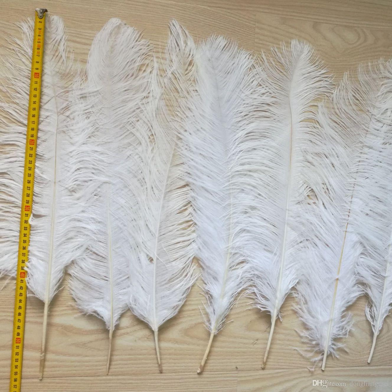 """10 Wing 18-24/"""" Black Huge Ostrich Plumes Centerpiece Feathers Costume Halloween"""