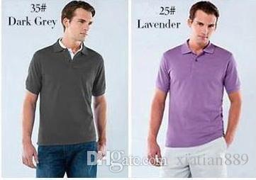 새로운 여름 작은 말 악어 자수 남성 T 셔츠 새로운 디자인 폴로 셔츠 남성 짧은 소매 캐주얼 남성 셔츠 슬림핏 폴로 남성 폴로