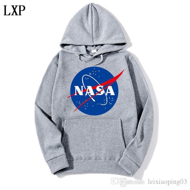 Le plus récent Nasa Sweat-shirts mode Manteaux Vestes capuche Sweat à capuche pour hommes et femmes EL-3