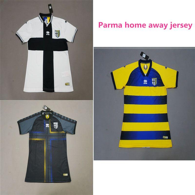 2018/19 Parma Calcio 1913 Soccer Jerseys Levante Futbol Camisetas Roger Morales Football Camisa Shirt Kit Maillot