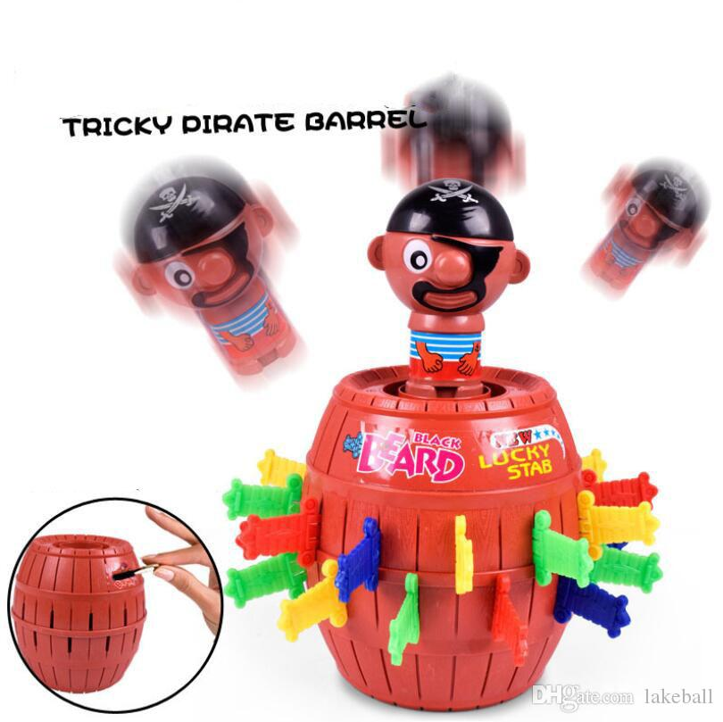 2019 Funny Table Games Tricky Toys Crazy Pirate Bucket Insert The Sword For  Kids Toys Piggy Bank From Lakeball, $9 57 | DHgate Com