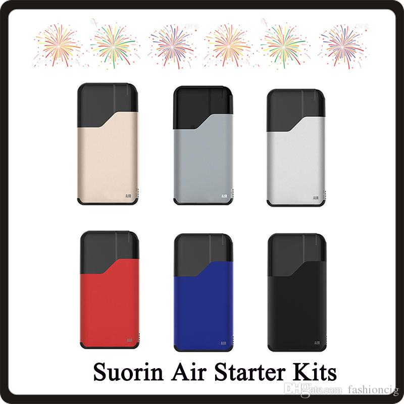 Top Quality Air Starter Kits 16W build-in 400mah Battery and 2ml Cartridge Indicator Light Electronic Cigarette Ecigs Kit
