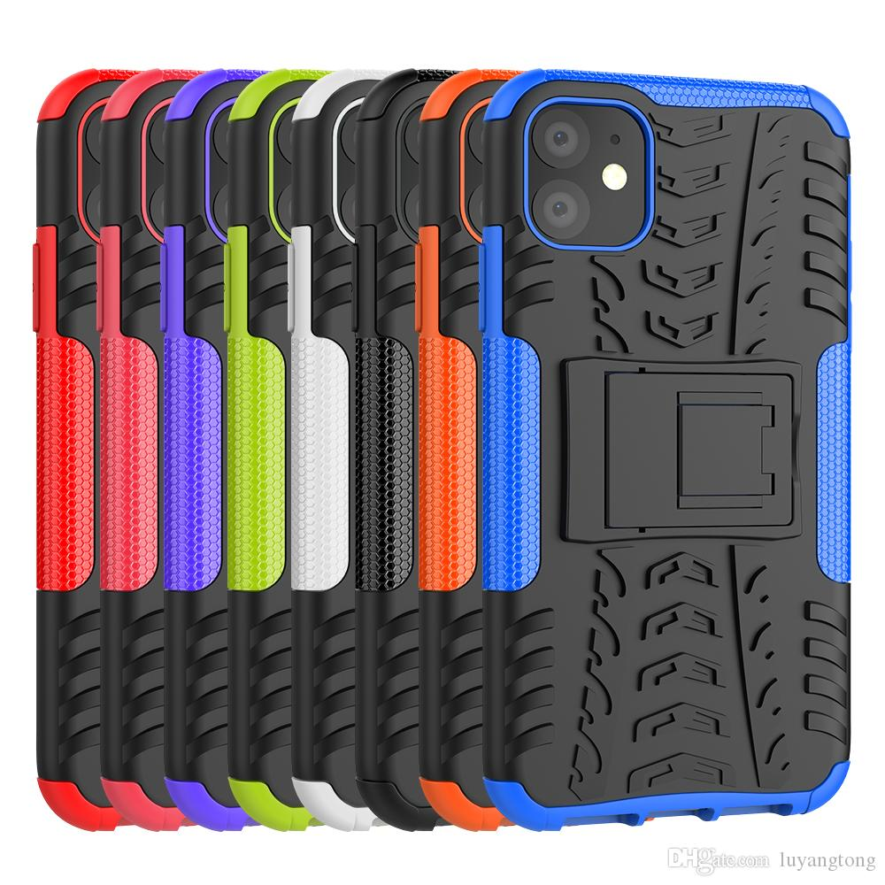 Couverture de téléphone pour iphone 11 cas hybride armure cas pour Apple iphone 11 Pro Max Heavy Duty Protection couvercle de protection