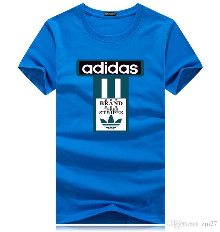 2019 estate Harajuku Lettera T-shirt design uomini e delle donne fredde t-shirt plus-size degli uomini s-5XL sportiva a maniche corte magliette allentate