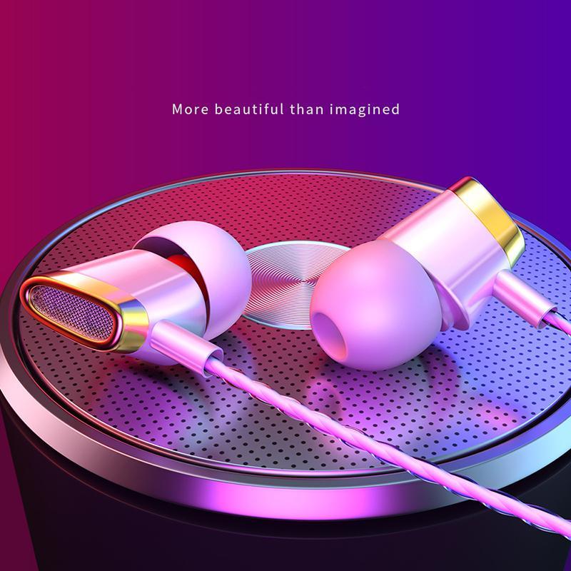 Bass Cuffie auricolari pesante in-ear Wired HD cuffie auricolari universale Fabbrica di vendita diretta supportano 2PCS consegna