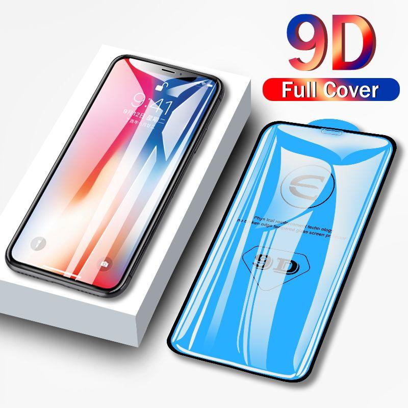 9D защитное стекло для iPhone 11 про MAX стекла на Iphone 7 6 8 плюс XR XS MAX 11 Pro MAX протектора 11 экрана