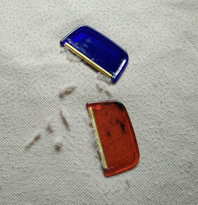 DHL 미니 휴대용 린트 리무버 세탁 청소 도구 헤어 볼 트리머 매뉴얼 펠렛 절단 기계 스웨터 옷 면도기 NC