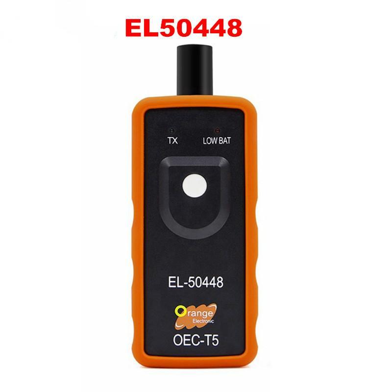 2019 a melhor qualidade A Sensor + EL50448 Auto Tire Presure Monitor de OEC-T5 EL 50448 Para GM / Opel TPMS Reset Tool EL50448 eletrônico