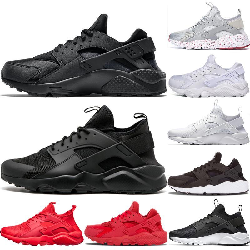Nike Air Huarache huaraches nike air huarache shoes 2018 Huarache I tênis homens mulheres calçados esportivos triplo preto branco ouro Huraches 1.0 tênis ao ar livre EUA 5.5-11