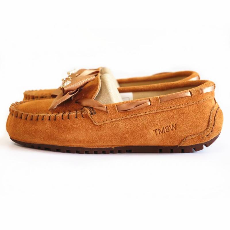 Beatiful 2020 High Quality Shoes Women 100% Genuine Leather Women Flat Shoes Casual Loafers Slip On Moccasins Lady Driving