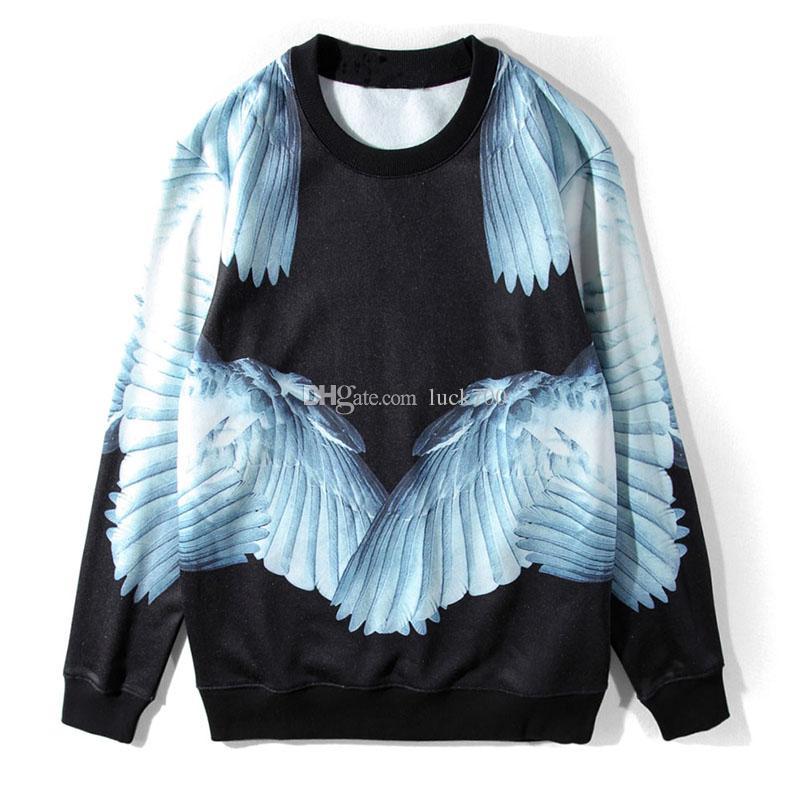 Sweatshirts célèbres Sweatshirts Fashion Hommes Hommes Hommes Sweats à capuche Unisexe à manches longues Noir Taille S-XL