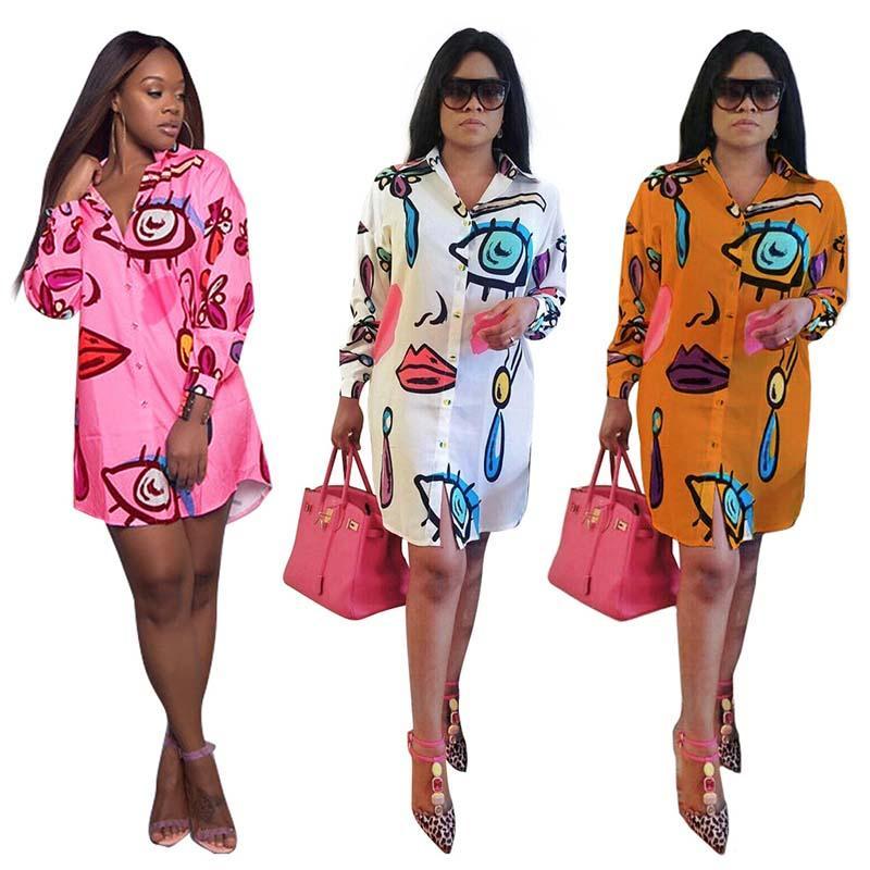 Vêtements ethniques Afrique Femmes Bazin Biche Robe africaine Décontracté imprimé Loisirs Blouse chemisier à manches longues personnalité rose blanc orange