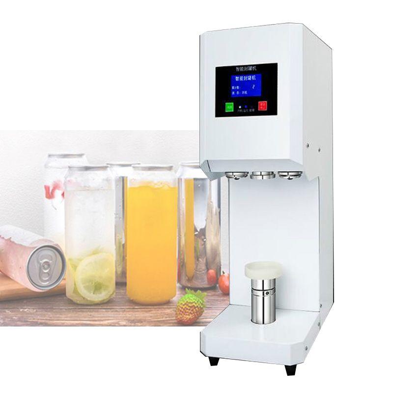 370W Electric sealing machine for aluminum can milk tea shop cold drink shop 500ml 650ml can sealing machine