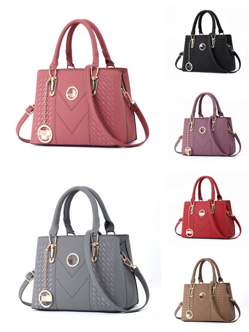Newset Femme Bolsa de lujo para las mujeres 2020 empaqueta los bolsos del diseñador de las mujeres de piel de cocodrilo hembra hombro Messenger Bag Sac principal # 416