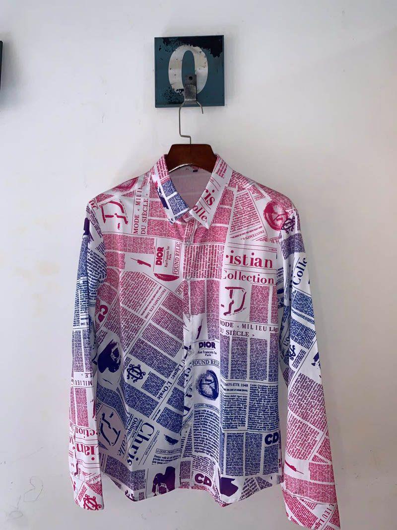 Новая 2020 Мужской ShirtFashion Harajuku Повседневной рубашки Мужской роскошь Medusa Черный AndGold Необычных 3d-Printed тонкая рубашка
