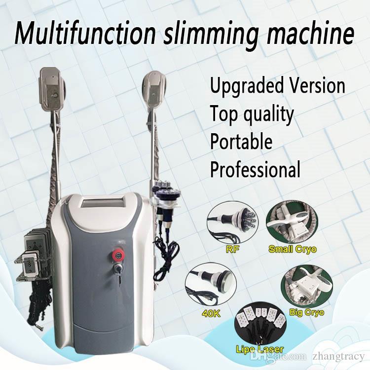 Cryolipolysis laser lipo perdita di grasso macchina ad ultrasuoni dimagranti 6 pastiglie 650nm Lipo Laser cavitazione RF Peso ridurre radiofrequenza