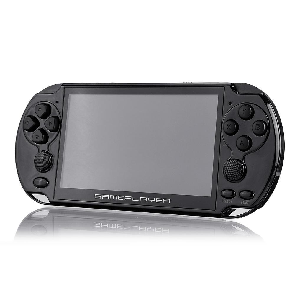 X9 Plus 5.1inch HD LCD Screen 16GB 128Bit 10000 Games Handheld Video Game Console Double Rocker MP5 for GBA NES
