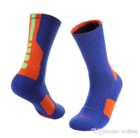 2019 women and Men Professional Middle tube Elite socks basketball socks Sweat resistance Towel bottom socks 133