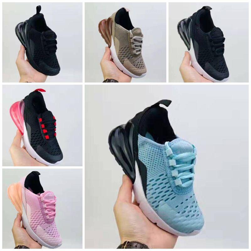 Nike air max 270 Hochwertige Baby Kinder 27 Sportschuhe Kinderschuhe Kleinkind-Sport-Turnschuhe für Jungen-Mädchen-Kleinkind-pour enfants Größe 22-35