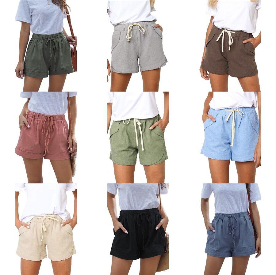 Iidossan Femmes d'été imprimé floral Shorts Hiphop shorts de plage Femmes Fitness Pantalons Vacances Thai Style New Drop Ship T200606 # 484