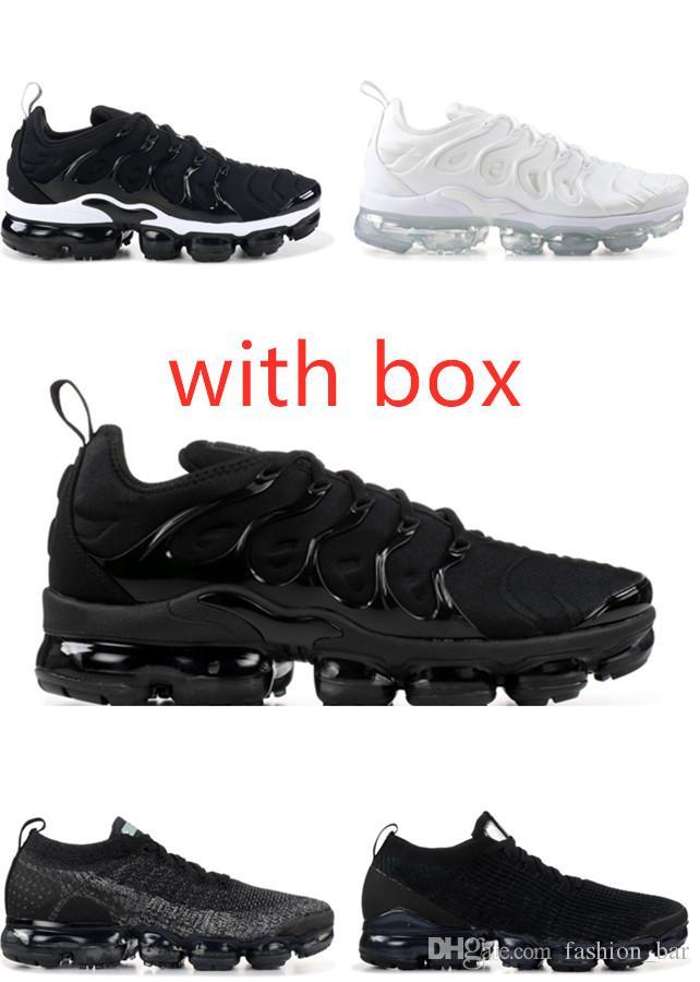 kutu tn artı eğitmen spor ayakkabı ayakkabı ücretsiz kargo ile Ayakkabı Koşu 2019 tn artı Metalik Beyaz Gümüş üçlü siyah erkekler