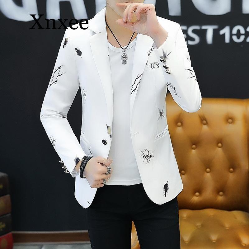 Chaqueta de Corea del juego de la chaqueta del color de moda de la personalidad de los hombres de las tapas ocasionales de la chaqueta de otoño