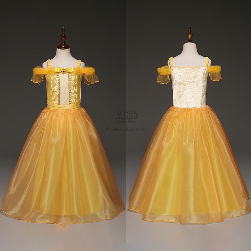 Abito per le ragazze del vestito da partito cosplay bambini la principessa del costume di Natale