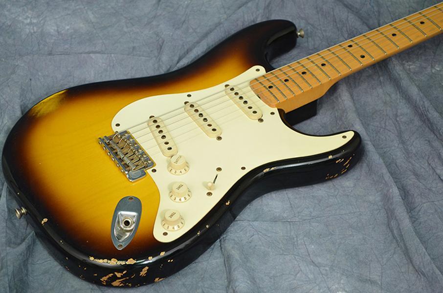 Высококачественная электрическая гитара, гитары высшего качества, реликвии в возрасте, модернизированные качества, твердое тело твердого ольха, 2TS2