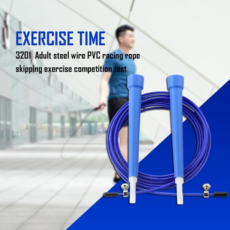 Skipping Jump Rope Adjustable Boxing Gym Weighted Adult Soft Speed Ropes 3m//10ft