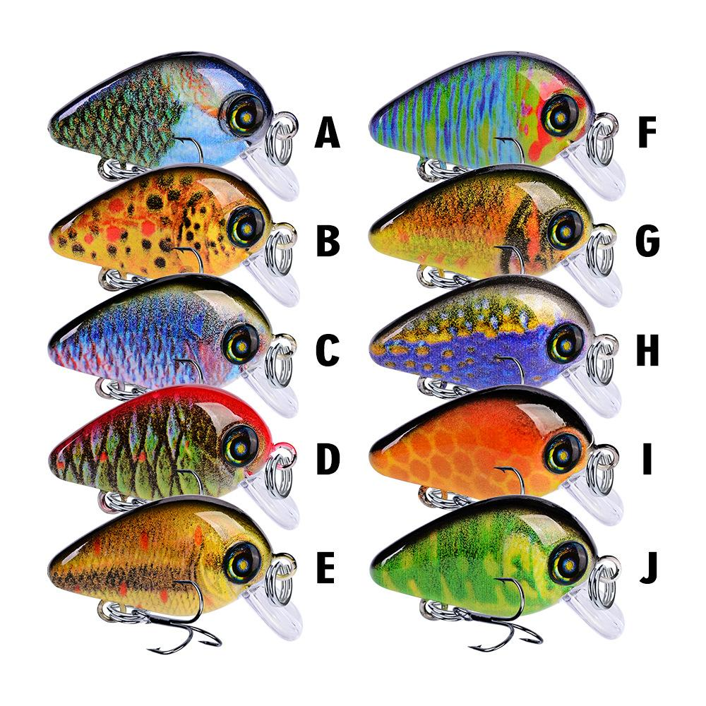 Cheap Lures 2g Fish Wobblers Small Dazzling Hard Fishing Lure 28mm Sinking Minnow Sea Fishing Plastic Bait Popper Wobler Na Ryby Jerkbait