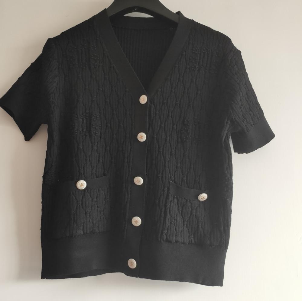 2020 Moda yeni stil Yaz siyah Tops Lady Plaj Giyim Kısa Kollu Casual Tshirt Yeni Gelen giysi