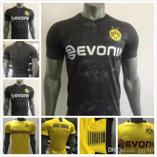 2020 Player Version Bvb Borussia Dortmund Soccer Jersey 2019 2020 Philipp Gotze Reus Pulisic Witsel Jersey 19 20 Paco Alcacer Football Kit Shirt From Ggg513 18 66 Dhgate Com