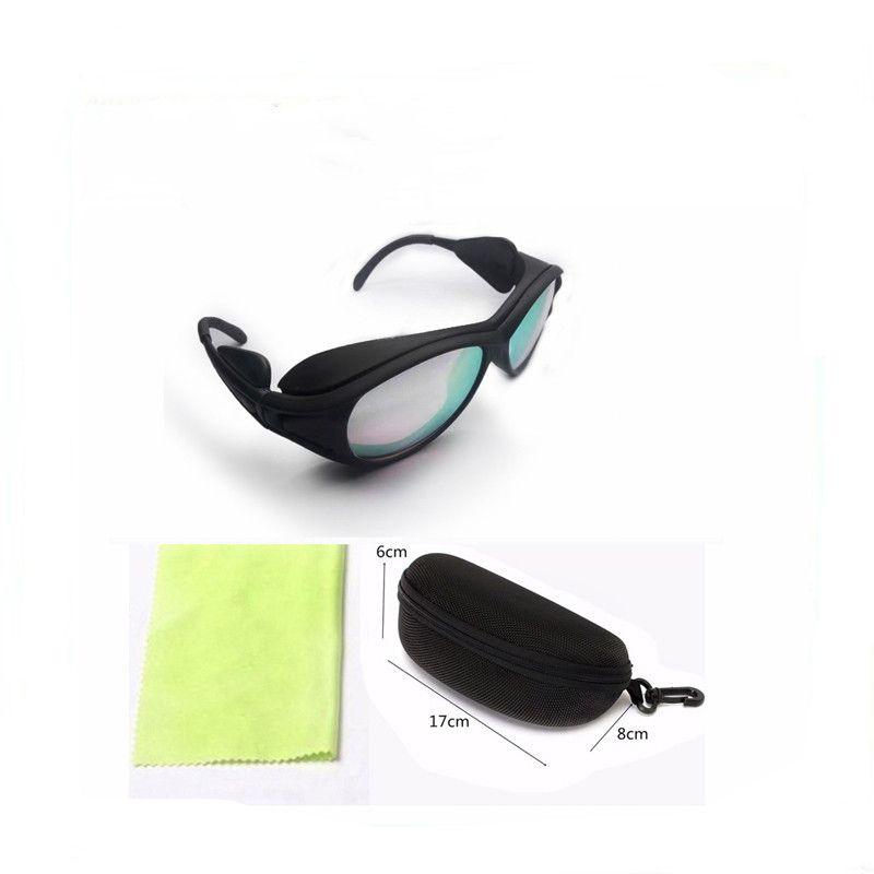 أعلى الأزياء الزجاج البصري OD5 + IPL نظارات واقية 400-700nm نظارات السلامة الليزر النظارات التجميل