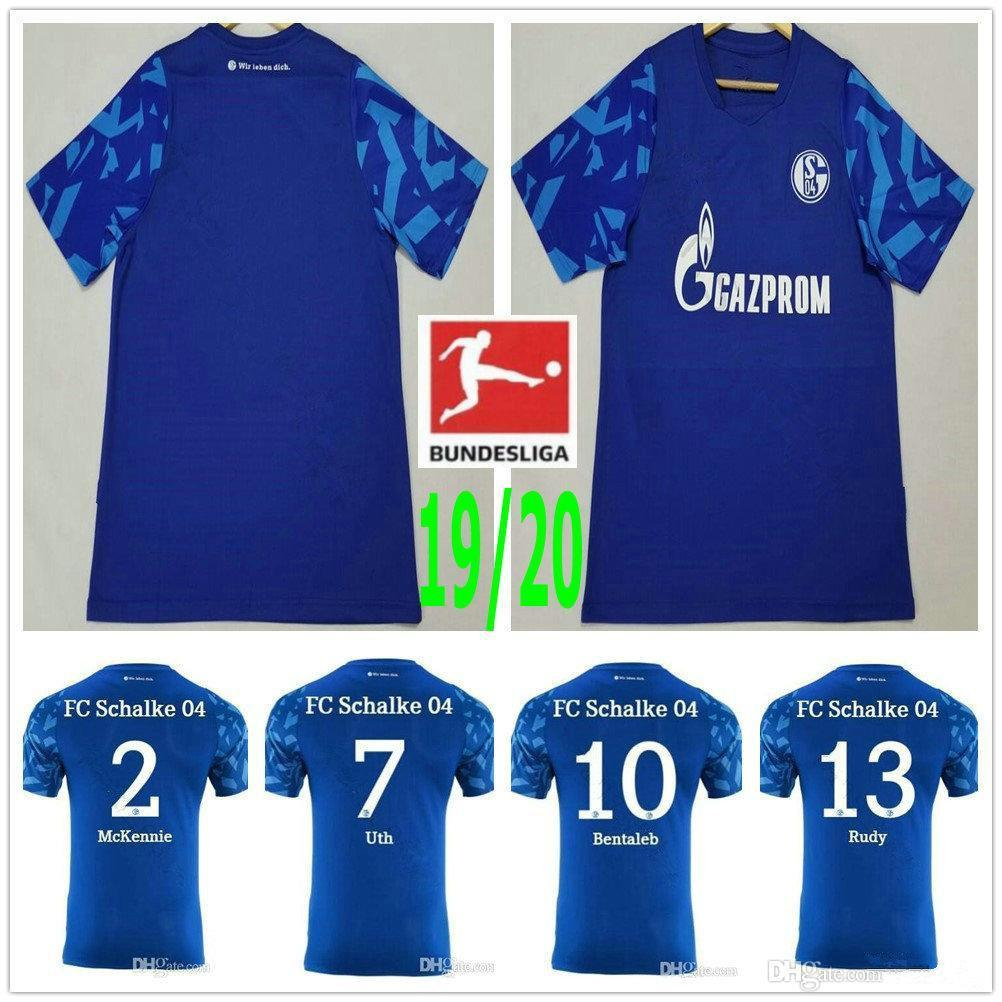 FC Schalke 04 Herren T-Shirt College Blue
