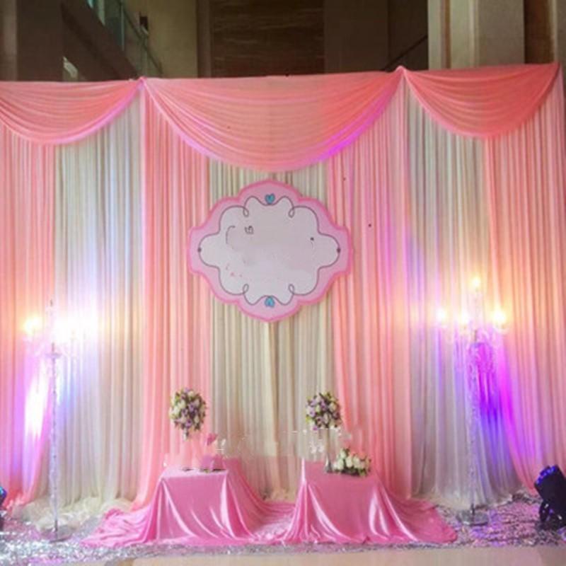 Ice Silk Cloth Elegant Wedding Background Curtain Birthday Party Stage Performance Fashion Fold Background Decoration Decoration Material For Party Decoration Of Birthday From Asite 167 74 Dhgate Com