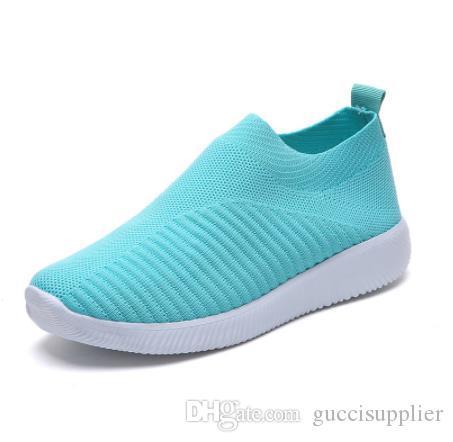 0729 1 2019 способа женщин людей вскользь ботинки дышащая сетка кроссовки высокого качества Летние мужские поскользнуться на Фальц обувь