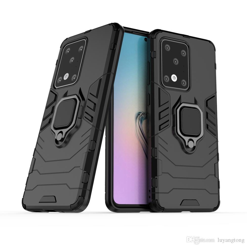 Pour Samsung Galaxy S20 plus de luxe Broigne Boîtier métallique pour Samsung Galaxy S20 Ultra Résistant aux chocs en silicone dur Retour PC S 20