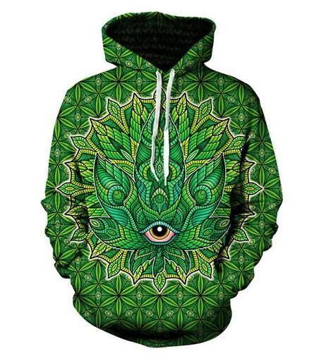 New Fashion Sweatshirt Men / Women 3d Hoodies Print Psychedelic Unisex Harajuku Style Stylish Hooded Hoodies USAL09