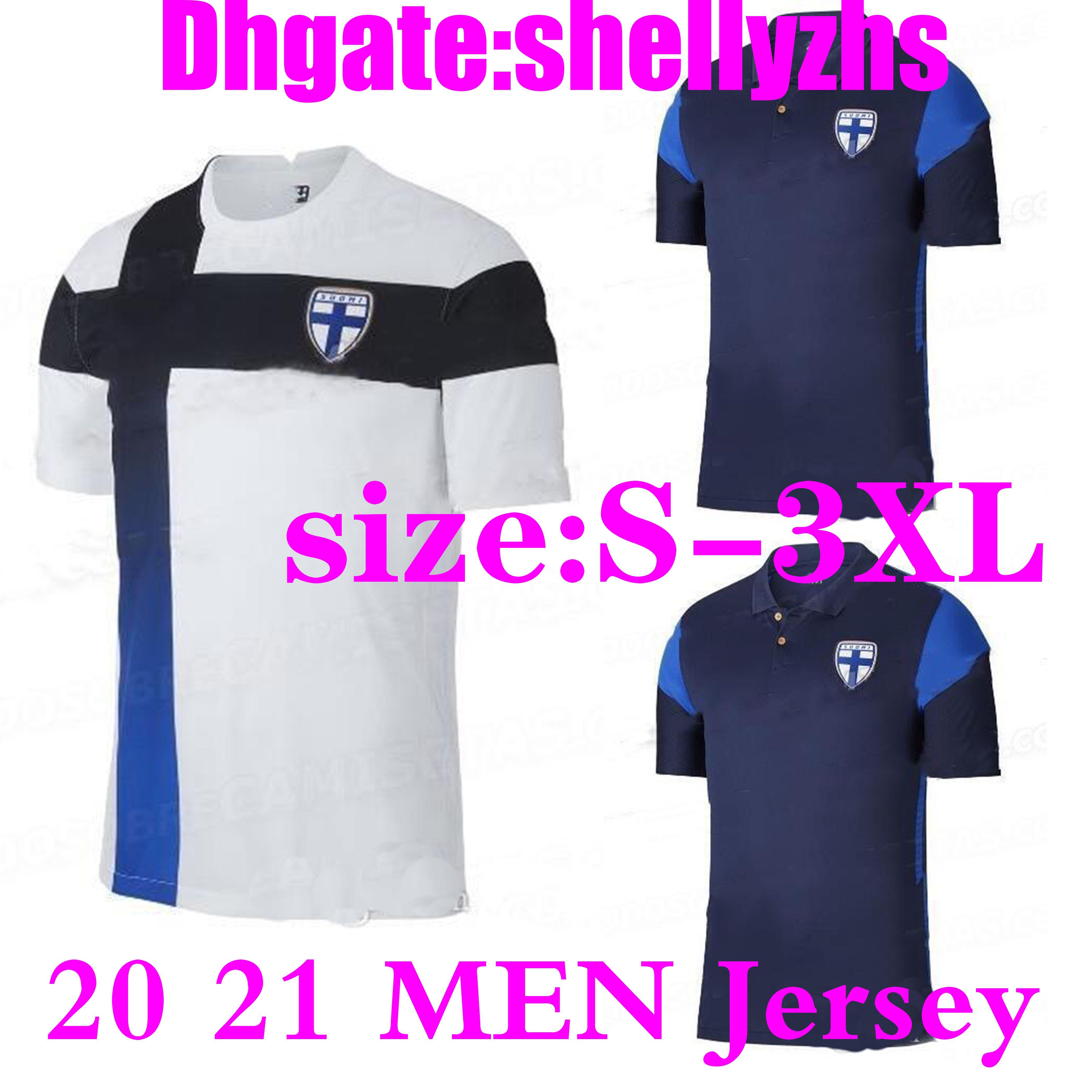 размер:S-3XL лучшее качество 20 21 Finland soccer jersey 2020 men home white PUKKI KEMPPI ENGMAN Jersey HRADECKY футбольная форма рубашки