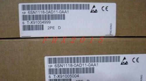 ONE NEW Siemens 6SN1118-0AD11-0AA 1