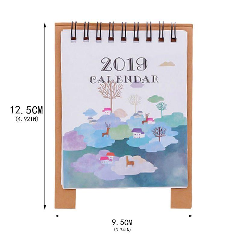 Calendrier Dessin Anime.Acheter Calendrier Dessin 2018 9 2019 12 Dessin Anime Mini Flamingo Desktop Paper Calendrier Calendrier Double Quotidien Planificateur De Tableaux