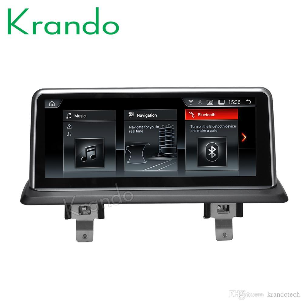Krando Android 9.0 10.25'' car audio for BMW 1 Series E81 E82 E87 E88 2006-2012 CIC navigation gps car dvd