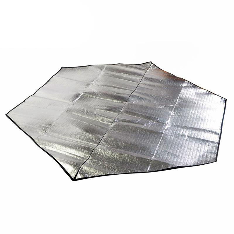 Outdoor Beach Blanket Camping Pad Sleeping Mat pique-nique Blanket matelas imperméable ultra-léger humidité preuve tapis pour Tente Tarp