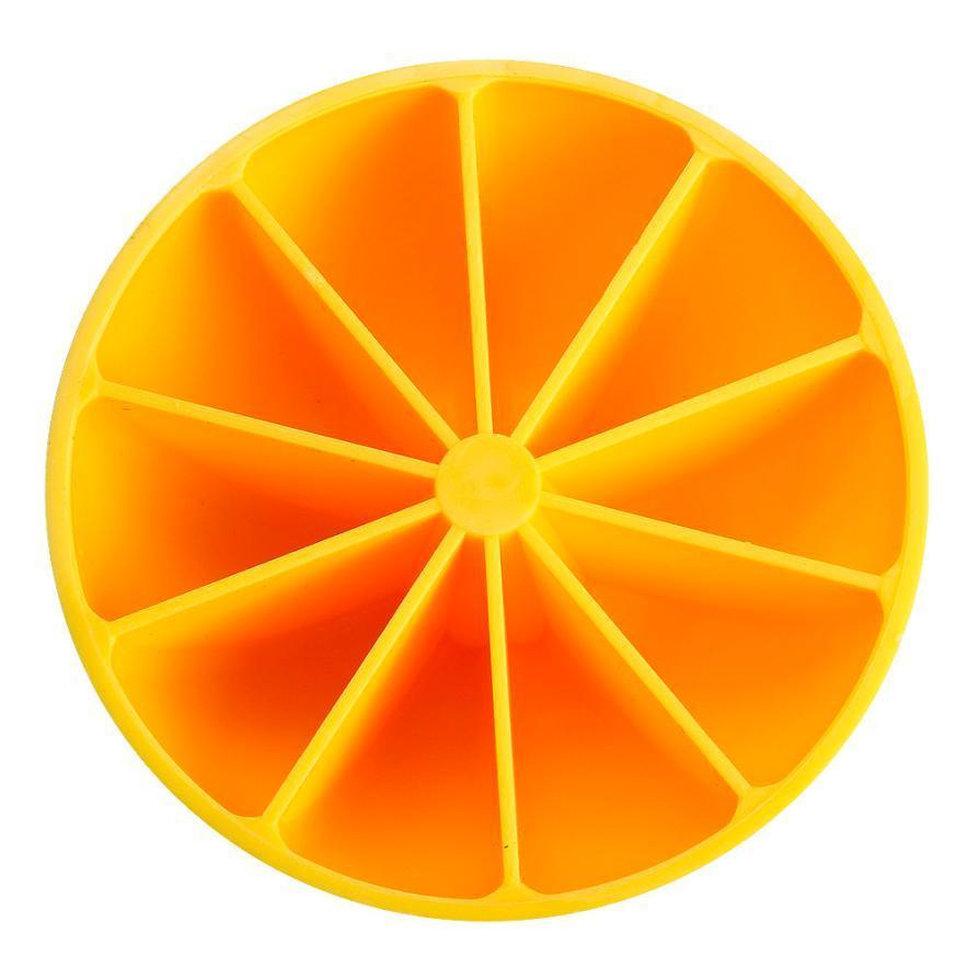 Fai da te al limone modello Ice Maker 10 Ice non tossico Ice Box il trasporto # 15 goccia Mold