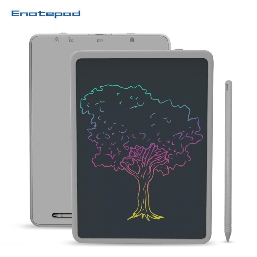 11 بوصة LCD شاشة ملونة رسم لوحة الكتابة اليدوية دفتر إعادة الاستخدام للأعمال التفاوض ملاحظات الحسابات الرسم والرسائل مجلس