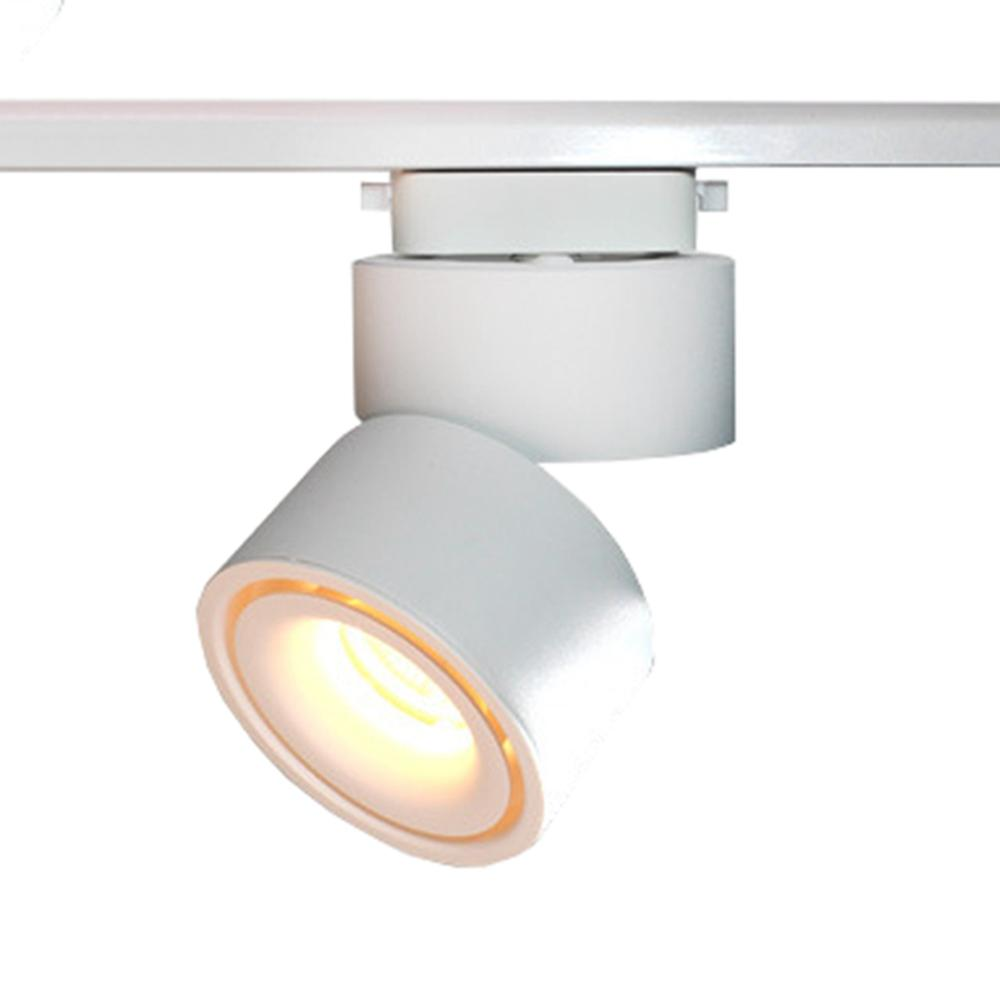 CLAITE 12W COB LED Luz de pista de carril Proyector para ropa Tienda Escaparate Exposición AC85-265V