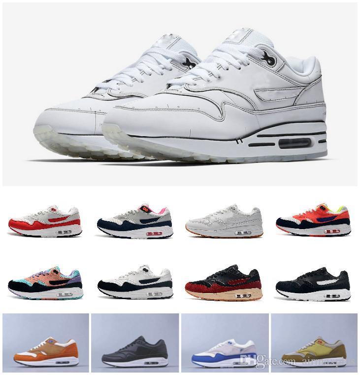 2020 Air Tinker Sketch To Shelf ShOes 87 Anniversary 1s Piet Parra Sneakers Premium lunar 1 DELUXE WATERMELON Designer React Element Sports
