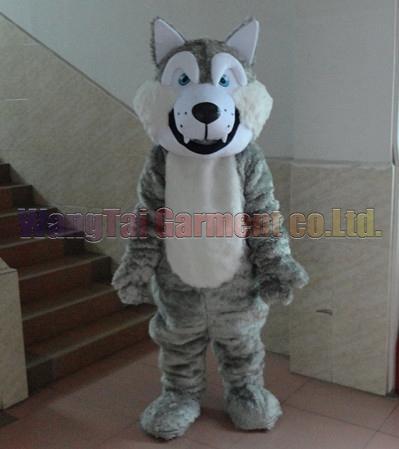 Wolf-Maskottchen-Kostüm Professionelle erwachsene Größe Carnival Anime-Film Charakter klassischer Cartoon erwachsenen Charakter Cartoon Klage Freies Verschiffen