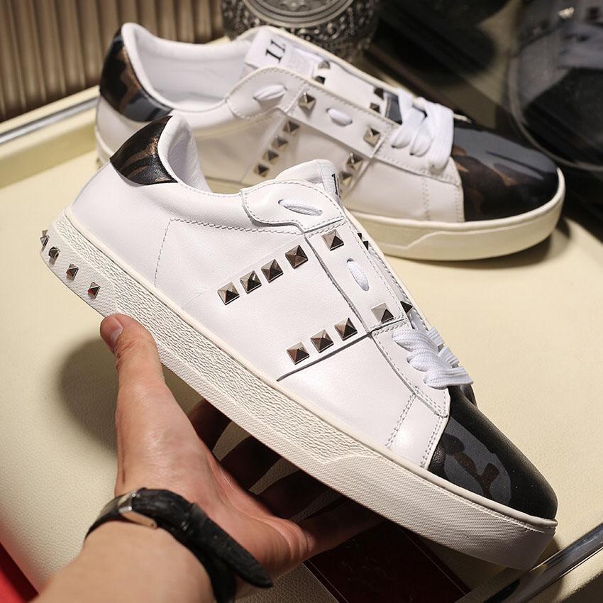 Tasarımcı Ayakkabı Moda Lüks Erkek Kadın Sneaker Punk Tarzı Yüksek Kalite Moda Günlük Ayakkabılar Boyut 35-45