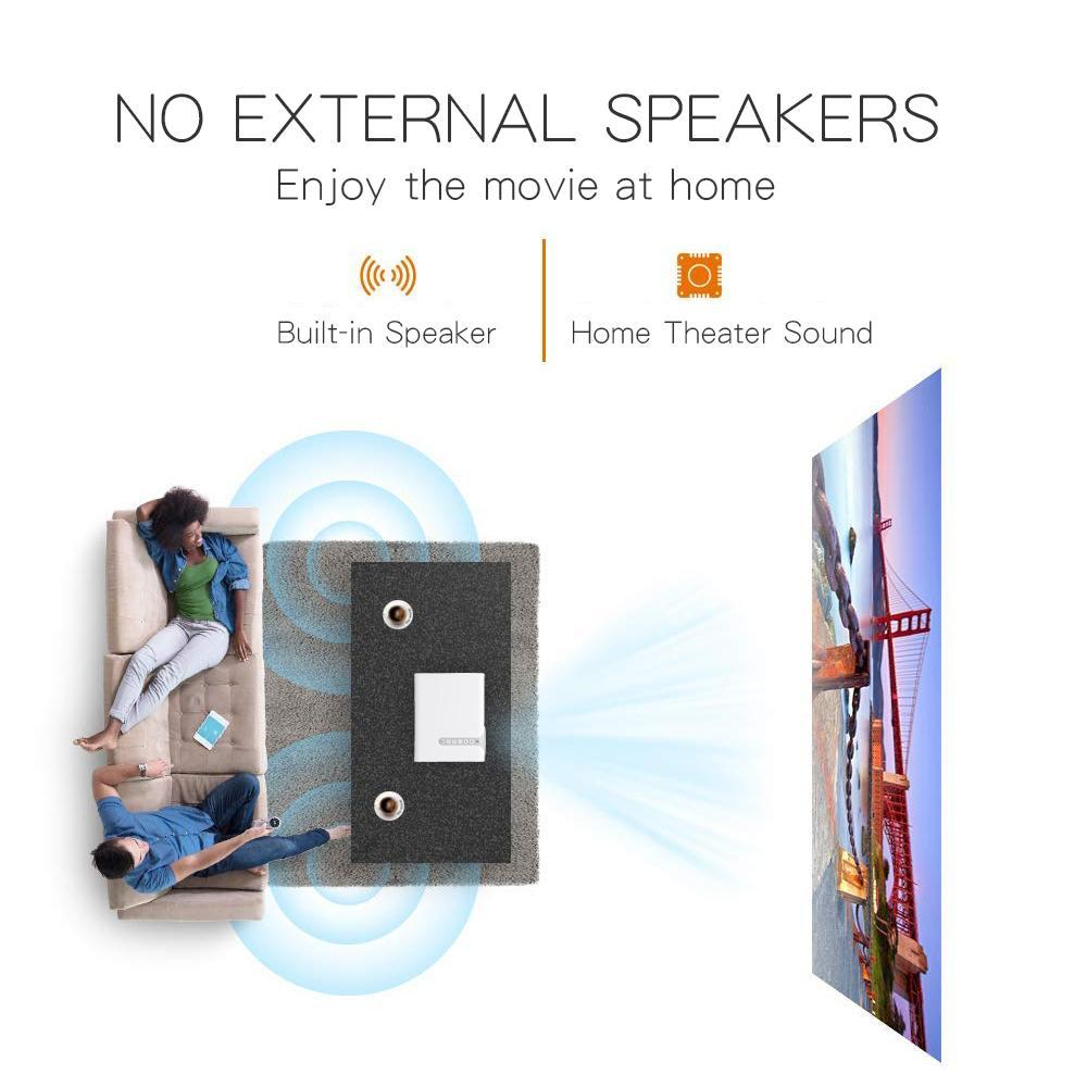 Freeshipping 7000 Lumens YG520 Original Mini Projector Support Full HD1080P Portable LED Home Theater Projectors HDMI USB Media Player